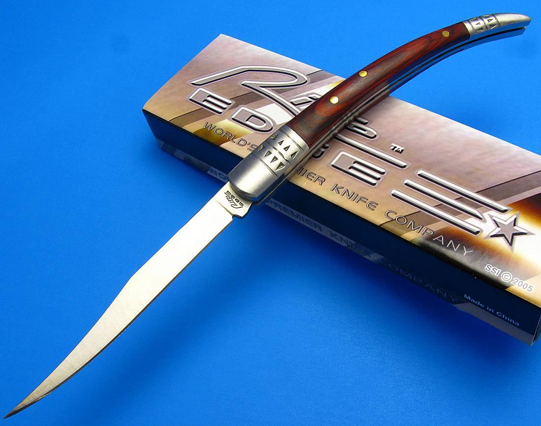 Rite Edge Spanish Toothpick Rich Grain Wood Handle Folding ...