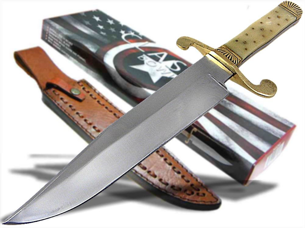how to make a bowie knife handle